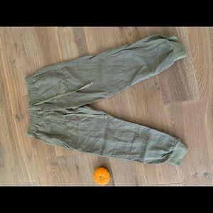 Caslon Linen jogger pants Petite XXS